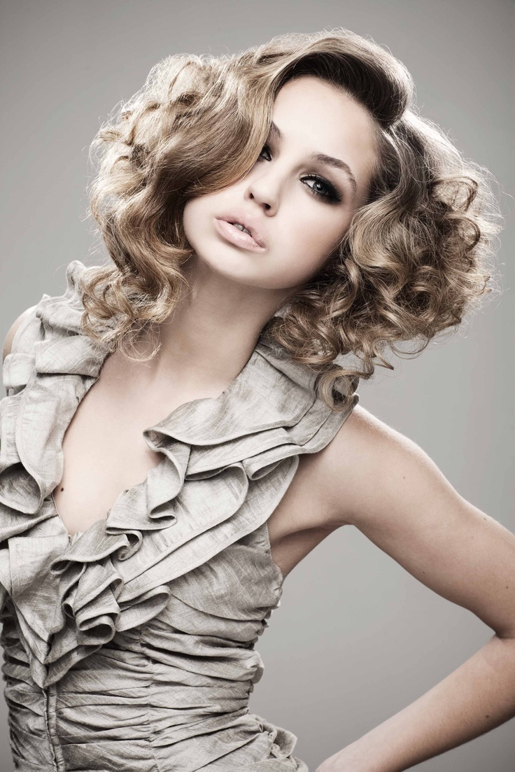 Thalia looking fantastic for Hession Hairdressing!
