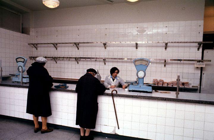 Chris Niedenthal | Sklep mięsny | Warszawa, lata 80-te