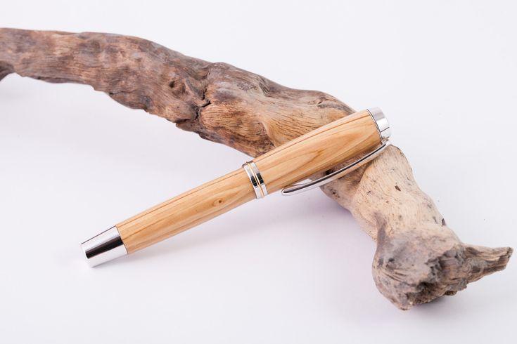 Holz-Füllfederhalter-Flieder