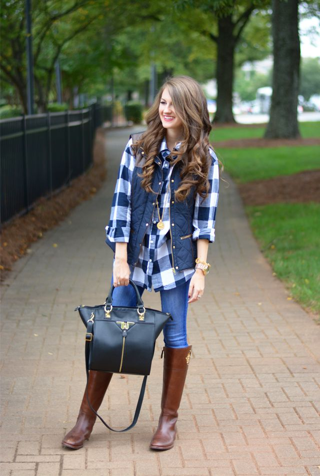 Southern Curls & Pearls: Puffer Vest...