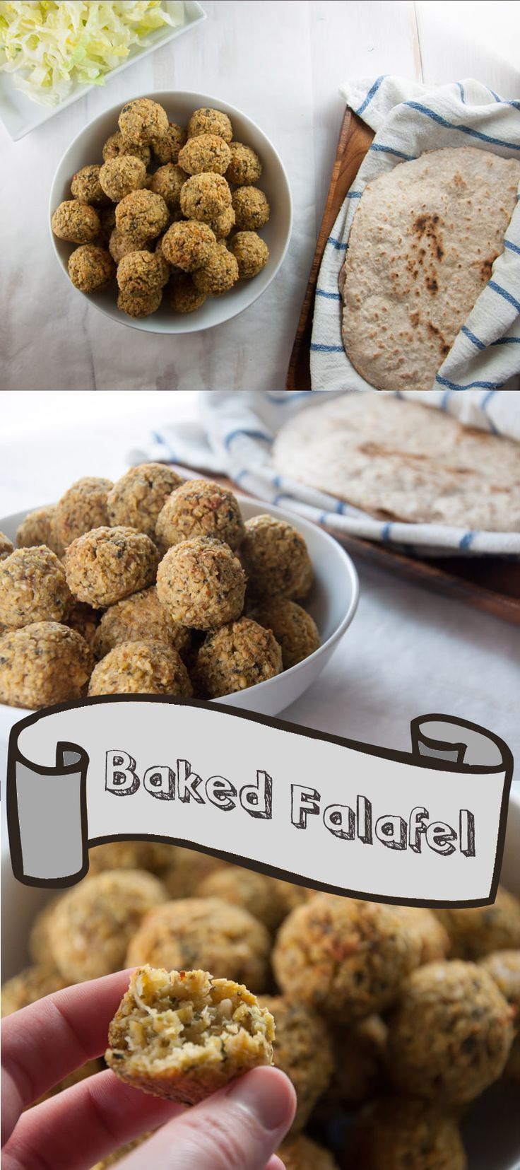 #vegan Oven-Baked Falafel. #glutenfree
