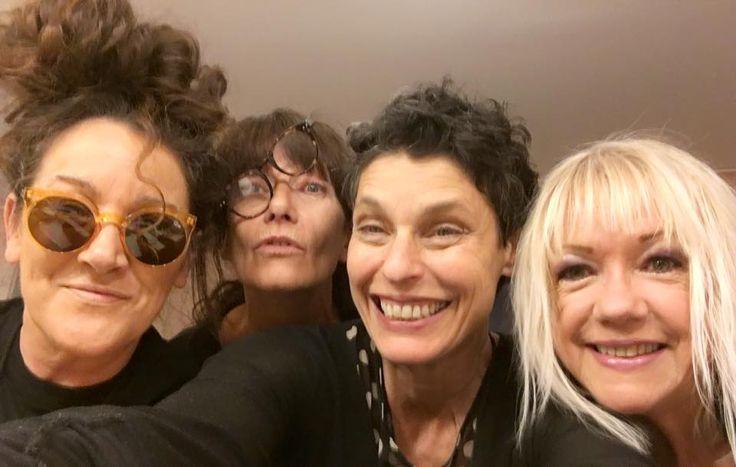 with Grace Knight, Wendy Matthews & Sharon O'neill