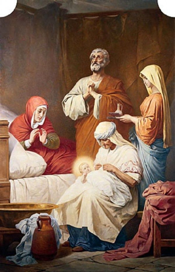 nativity of the blessed virgin mary pictures | The birth of the Blessed Virgin…