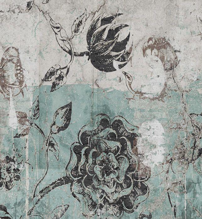 Wallpaper -Botanical Graffiti - Kerrie Brown
