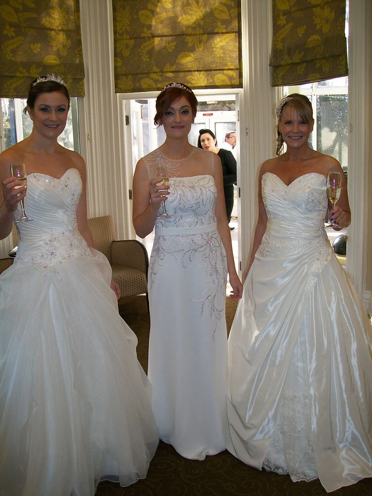 Heidi, Megan & Lisa @ Woodside, February 2014    www.bridalgallerycoventry.co.uk