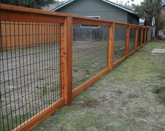 Hog Wire Fence Design Construction Resources In 2018 Yard Garden Backyard