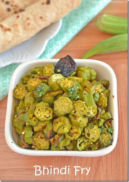 Bhindi Fry – Okra Fry