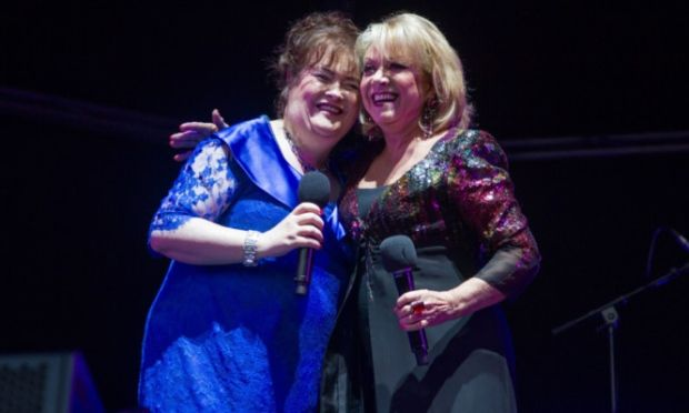 Susan Boyle and Elaine Paige wow the crowd with duet at Glamis Proms - Angus & The Mearns / Local / News / The Courier