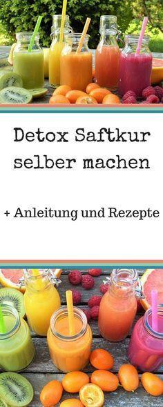 Detox Säfte Rezepte zum Abnehmen. Wer eine Detox Saftkur selber machen will, sollte sich vorher gut informieren. Rezepte und Tricks für das Juice fasting findest du hier.