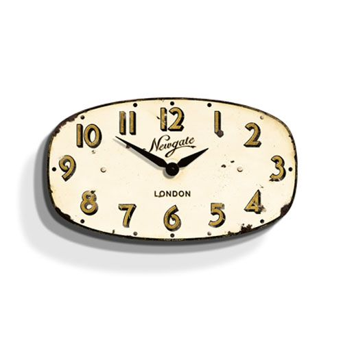 Vintage Wall Clock - Cream | dotandbo.com