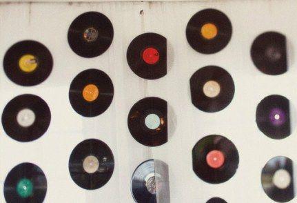 9 id es de d coration mariage avec le disque vinyle - Decoration disque vinyle ...