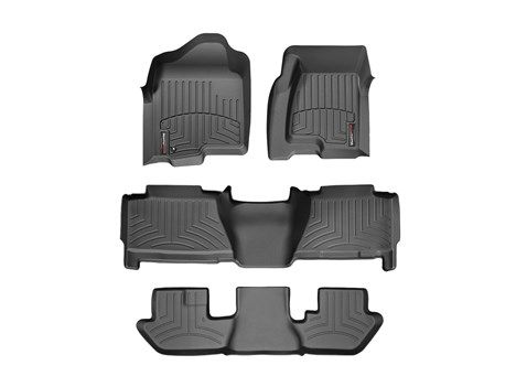 2005 GMC Yukon XL / Yukon Denali XL | WeatherTech FloorLiner - car floor mats liner, floor tray protects and lines the floor of truck and SUV carpeting from mud, snow, water and dirt | WeatherTech.com