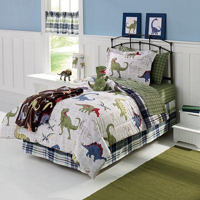 dinosaur bedding twin