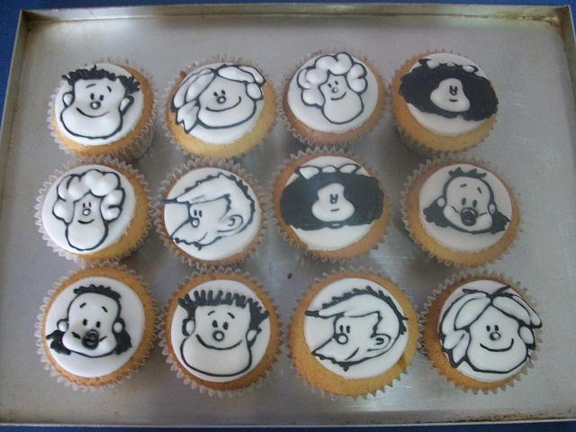 Mafalda cupcakes!