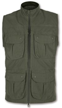 http://www.breakingfree.co.uk/product/Paramo-Clothing_Paramo-Mens-Halcon-Waistcoat-_1466_0_52_0.html The Halcon Waistcoat can be worn over a baselayer or outer layer for comfortable load-carrying for all outdoor activities.  The Parameta® A Cotton+ fabric is rugged but quick drying, quiet and lightweight.  The 14 pockets/ compartments allow a range of equipment to be organised, transported and easily accessible – ideal for wildlife watchers, photographers, fieldworkers and overseas…