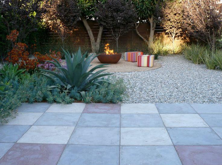 grass free garden httpwwwhouzzcomdecomposed - Ideen Fr Kleine Hinterhfe Ohne Gras