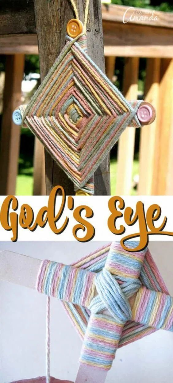 48++ Crafts with popsicle sticks and yarn information