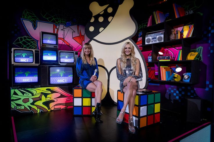 Sara Cox and Fearne Cotton