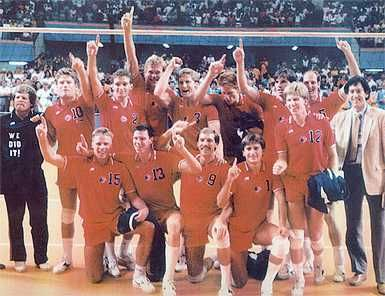 gold medalist 1984 us olympics volleyball team