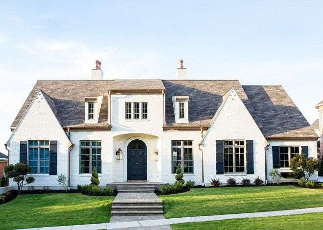 The Perfect Paint Schemes For House Exterior | Copper Gutters, Transitional  Style And French Farmhouse