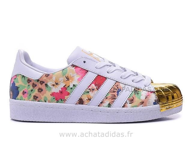The Adidas Kids Superstar Floral City Gear