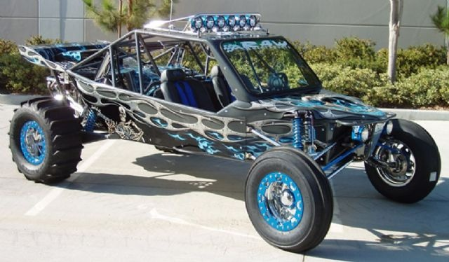 2008 Raw Motorsports Vortex Sand Rail , black and blue for sale in Temecula, CA