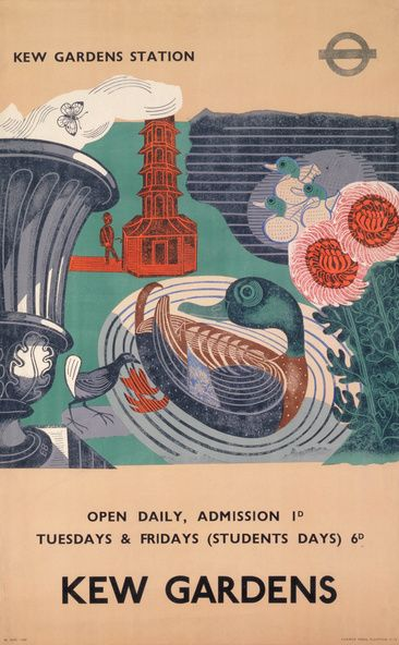 Poster by Edward Bawden, 1936