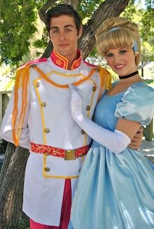 Cinderella and Prince Charming Birthday Party Character Orange County and Los Angeles (949) 407-9474 www.partyprincessproductions.com