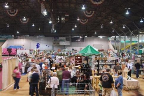 Carter County Arts & Crafts Festival & Food Fair. My mom used to go to this all the time. I remember walking through all the stalls and seeing all the cool crafty things  people made/did. I got an eyeball ring at one!