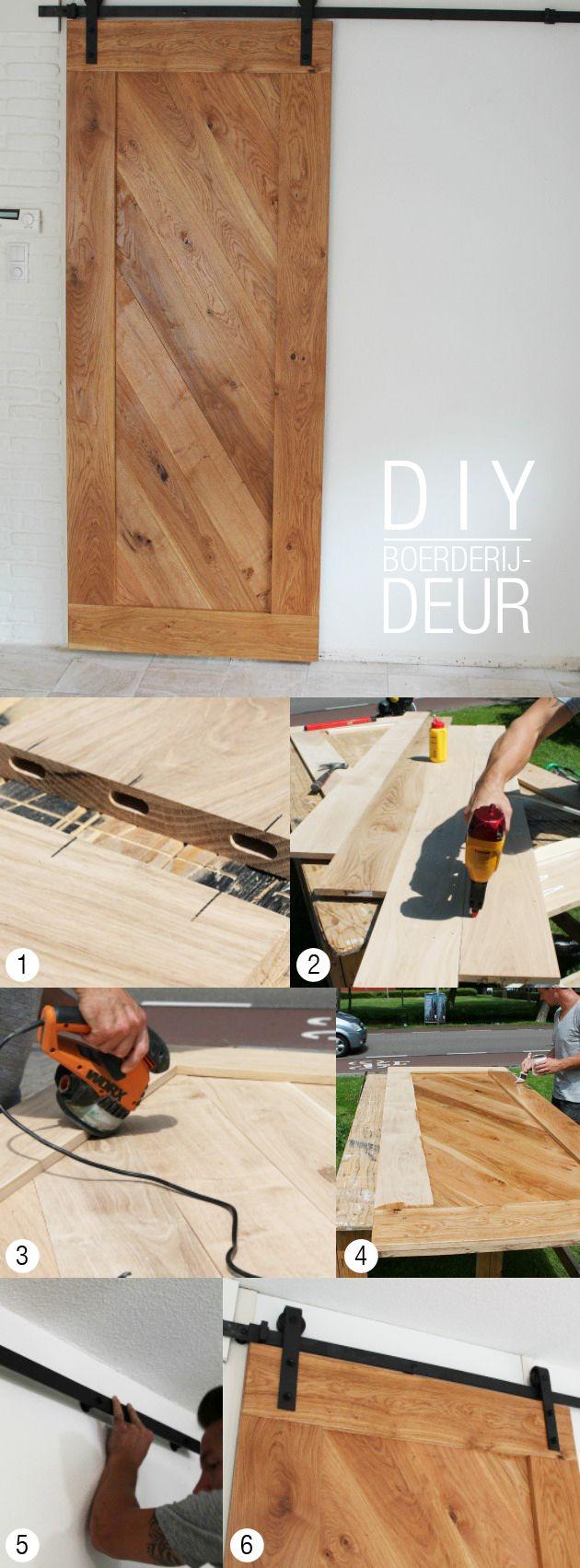 DIY: Boerderijdeur maken - Eigen Huis & Tuin