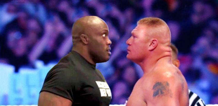 WWE News: TNA Wrestling Star Bobby Lashley Wants Brock Lesnar In WrestleMania