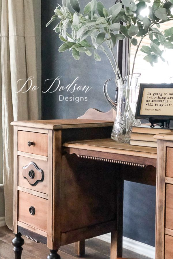With Sandpaper And A Little Elbow Grease You Can Turn Your Antiques Pieces Into Beautiful Raw Wood Furniture That Use In Modern Farmhouse Home
