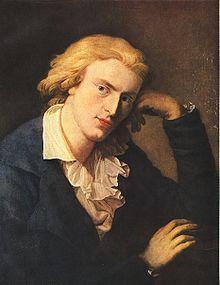 09/05/1805 : Friedrich Schiller, poète et dramaturge allemand. (° 10 novembre 1759).
