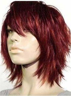 Einzigartige geschichtete Haarschnitte für kurzes Haar 2018