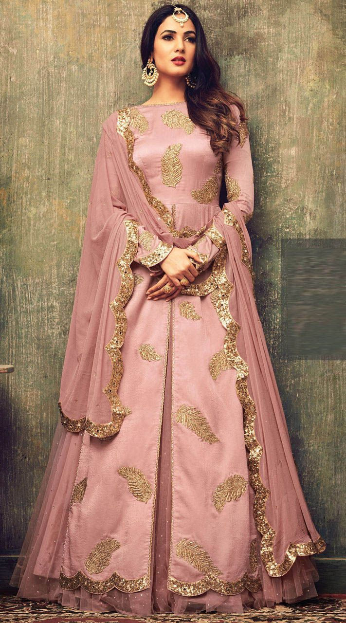 Sonal Chauhan Fancy Function Wear Designer Suits #CelebrityCollection #Partywear #Designer #FrontCut #Indowestern