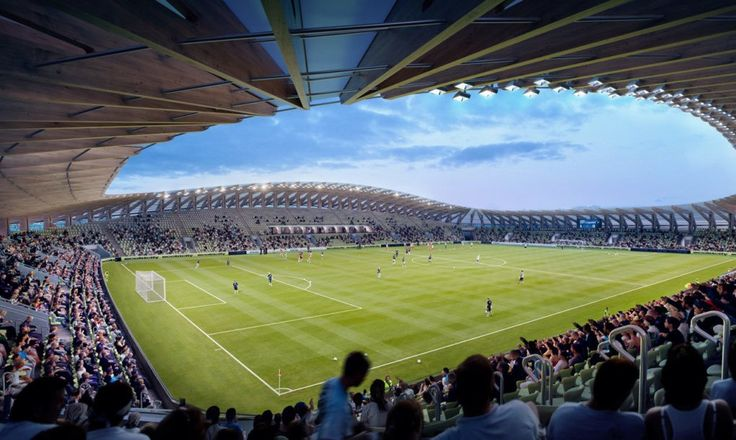 Eco Park Stadium by Zaha Hadid Architects