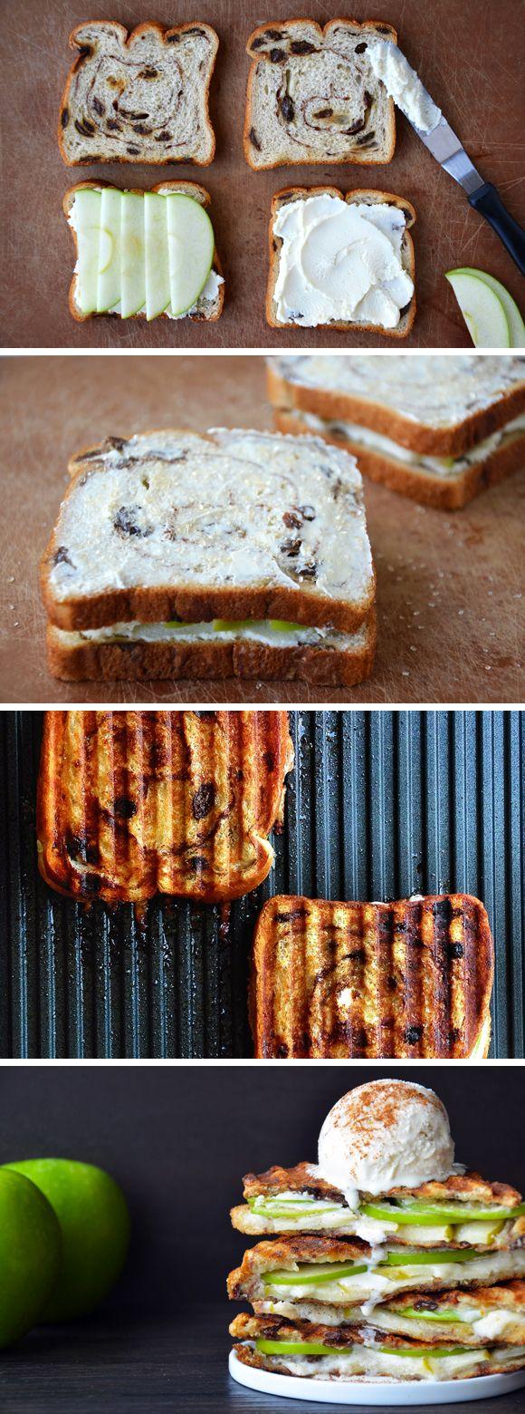 images about sandwich love sandwich recipes apple pie panini