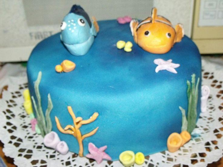 Némó torta