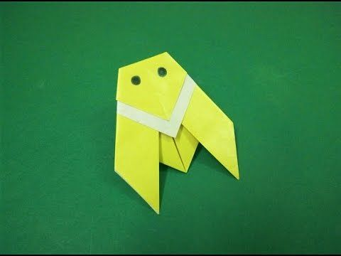 How to make an origami paper insect (cicada) | Craft & Art School.
