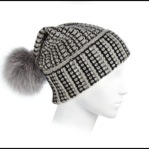 DVF Real Fur Pom Pom Hat Luxurious and adorable! Brand new with tags!! Perfect Christmas gift! Diane von Furstenberg Accessories Hats