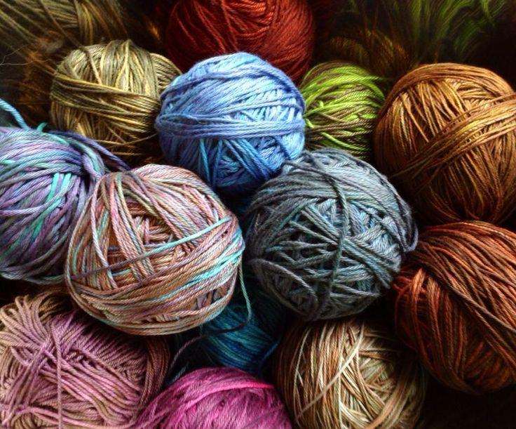 Borobudur hand-dyed yarn