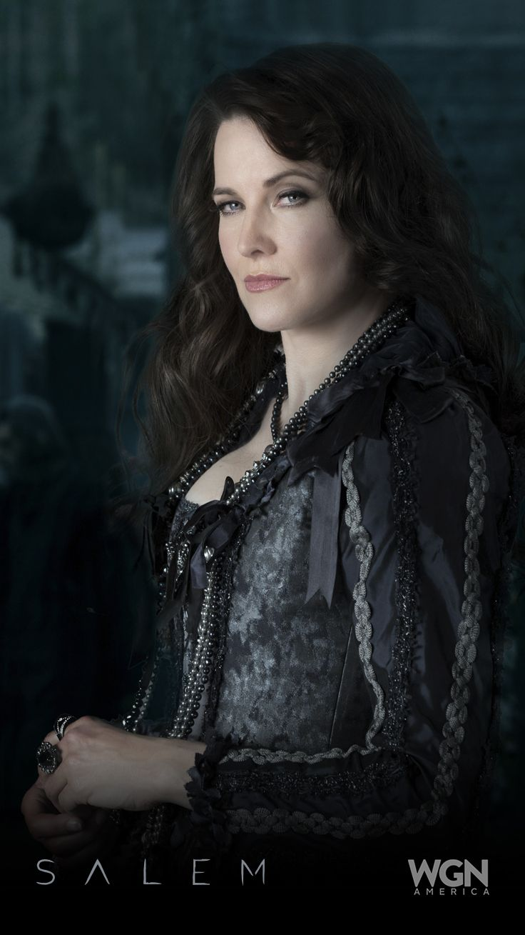 """I'm the last of the true witches."" – Countess Von Marburg (Lucy Lawless). ""Salem"" Season 2 – Sunday, April 5 at 10/9c on WGN America."
