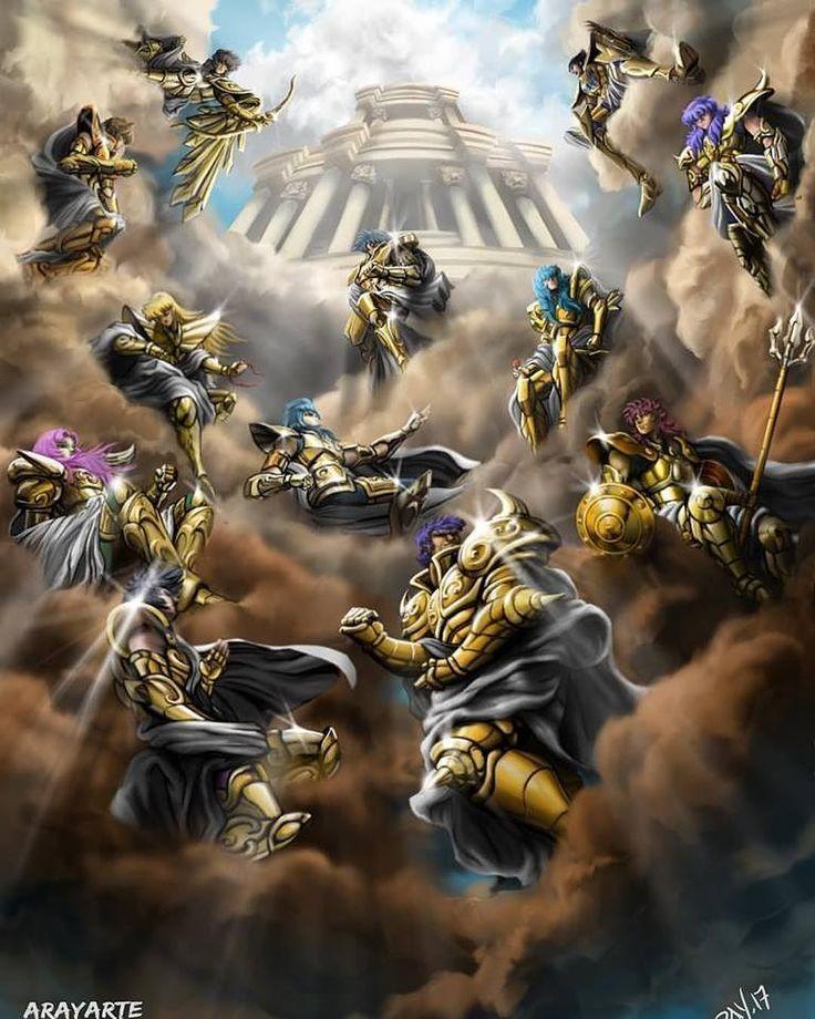 Cavaleiros de Ouro ♈♉♊♋♌♍♎♏♐♑♒♓