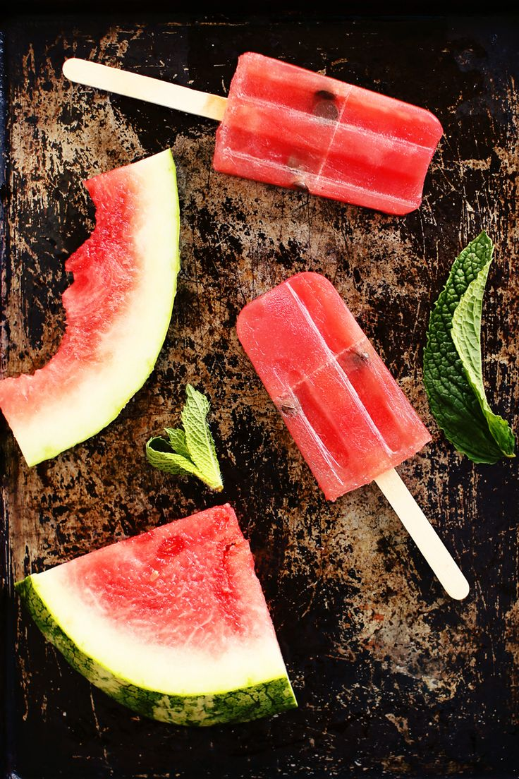 Watermelon Popsicles - with seeds you won't want to spit out!