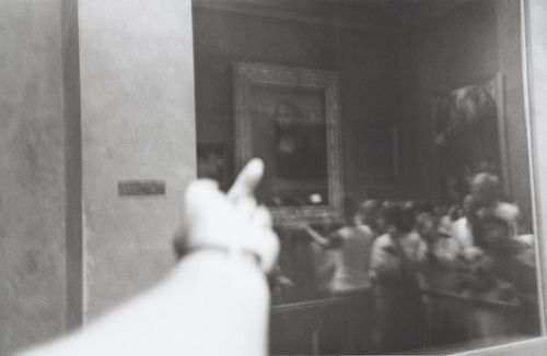 Study of Perspective - Mona Lisa  Ai Weiwei (Chinese, born 1957)