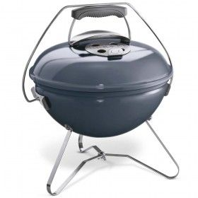 WEBER Smokey Joe Premium Portable Charcoal Kettle BBQ in Slate