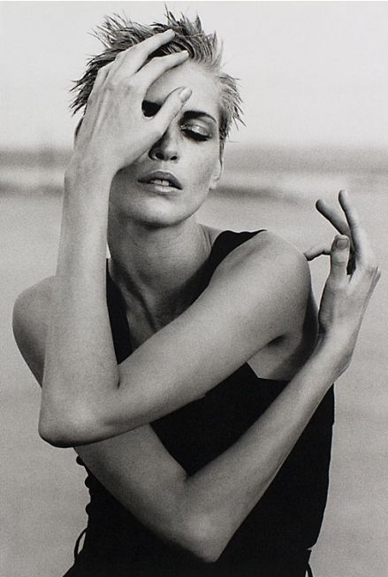 Najda Auermann  by peter lindbergh