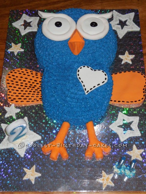 Hoot-tastic! Giggle and Hoot Birthday Cake