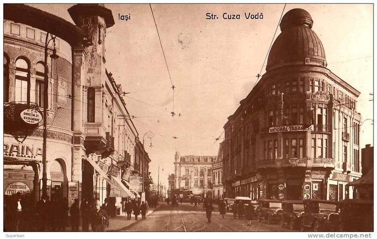 "Hotel ""Europa"" pe Strada ""Cuza-Voda"", 1944, Iasi, Romania"