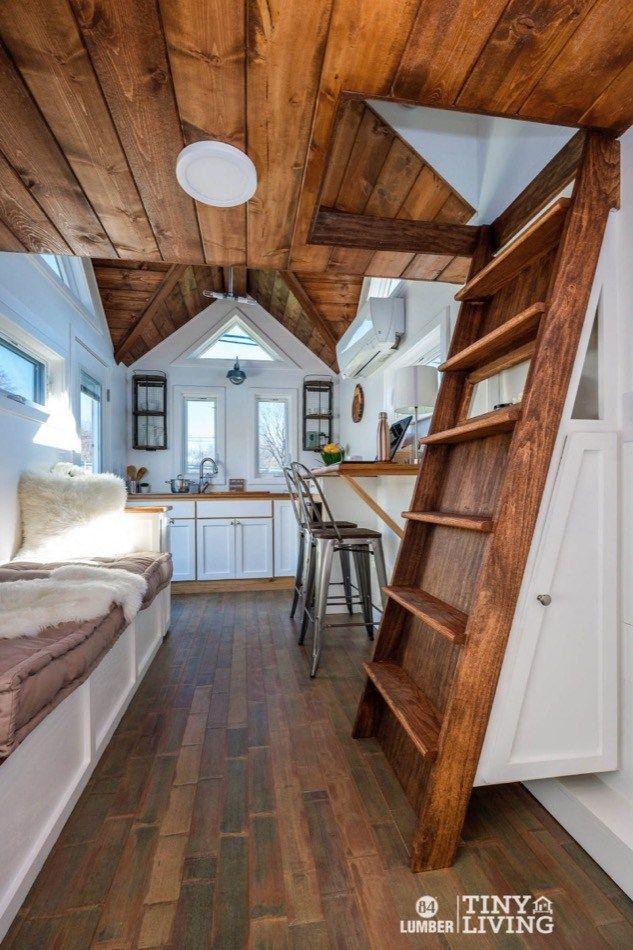 The Countryside Tiny House By 84 Tiny Living 008 Best Tiny House Tiny Cabins Interiors Modern Tiny House